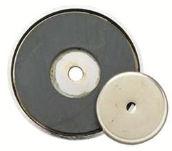 318-376D | General Tools Shallow Pot Ceramic Magnets