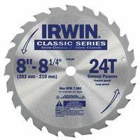 585-15150   Irwin Carbide-Tipped Circular Saw Blades