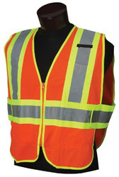 138-20298 | Jackson Safety ANSI Class 2 Two-Tone Deluxe Style Safety Vests