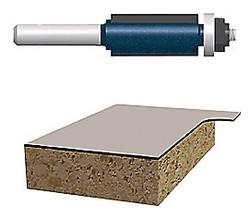 114-85268M | Bosch Power Tools Carbide-Tipped Ball Bearing Pilot Laminate Flush Trimming Router Bits