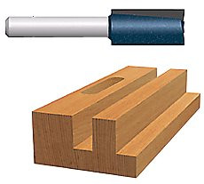 114-85225M | Bosch Power Tools Carbide-Tipped Plunge Cutting Straight Router Bits