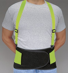 037-7178-02 | Allegro Economy Hi-Viz Back Supports