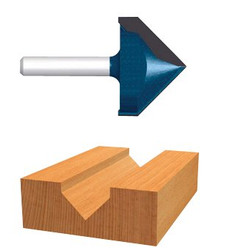 114-85219M | Bosch Power Tools Carbide-Tipped V-Grooving Router Bits