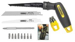 318-86014 | General Tools Quad-Saw/Driver Sets