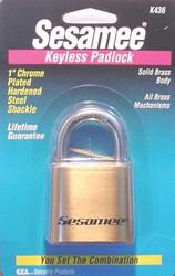 197-K0436 | CCL Sesamee  Keyless Padlocks