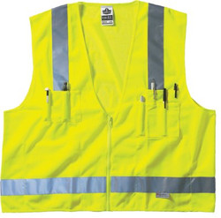 150-21425 | Ergodyne GloWear 8250Z Class 2 Surveyor Vests