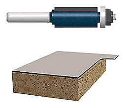 114-85216M | Bosch Power Tools Carbide-Tipped Ball Bearing Pilot Laminate Flush Trimming Router Bits