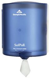 603-582-04   Georgia-Pacific SofPull Regular Capacity Centerpull Towel Dispensers
