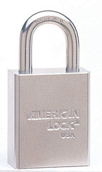 045-A7201KD | American Lock Steel Padlocks (Square Body w/Tubular Cylinder)