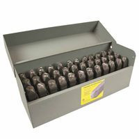 337-21400 | C.H. Hanson Heavy Duty Steel Hand Stamp Sets