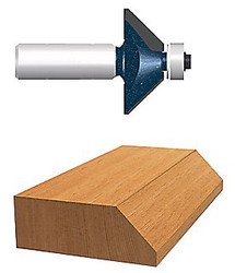 114-85597M | Bosch Power Tools Carbide-Tipped Ball Bearing Pilot Chamfering Router Bits