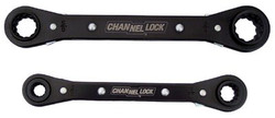 140-841S | Channellock 2 Pc. 4-in-1 Ratcheting Box Wrench Sets