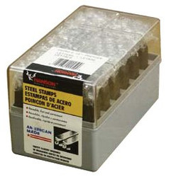 337-22961 | C.H. Hanson Premier Steel Hand Stamp Sets