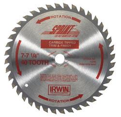 585-15220   Irwin Carbide-Tipped Circular Saw Blades