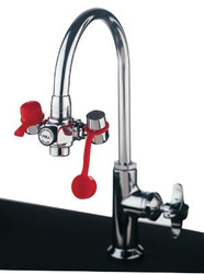 333-G1100 | Guardian EyeSafe Faucet-Mounted Eye Washes