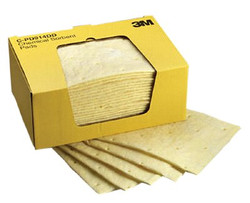 498-C-PD914DD | 3M Personal Safety Division High-Capacity Chemical Sorbent Pads