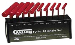 023-56163   Allen SAE Cushion Grip T Handle Hex Key Sets