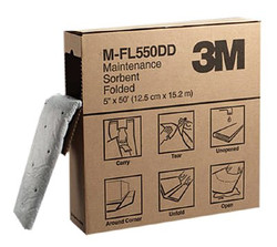 498-M-FL550DD | 3M Personal Safety Division High-Capacity Maintenance Folded Sorbents