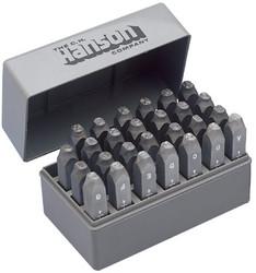 337-20400 | C.H. Hanson Standard Steel Hand Stamp Sets