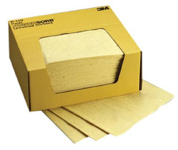 498-P-110 | 3M Personal Safety Division Chemical Sorbent Pads