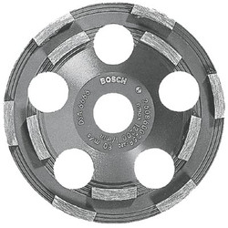 114-DC500 | Bosch 5 In. Double Row Segmented Diamond Cup Wheel for Coating