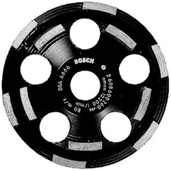 114-DC520 | Bosch 5 in. Double Row Segmented Diamond Cup Wheel for Concrete