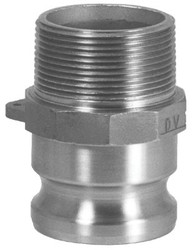 238-100-F-BR | Dixon Valve Andrews/Boss-Lock Type F Cam and Groove Adapters