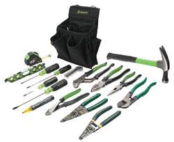 332-0159-12 | Greenlee 17 Pc. Journeyman's Tool Kits