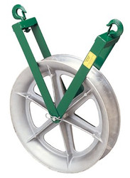 332-639 | Greenlee Right-Angle Twin Yoke Sheaves