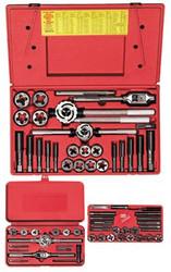 585-98146 | Irwin Hanson 64-pc Machine Screw / Fractional Tap & Adjustable / Solid Round Die Sets