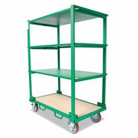 332-GMX-663K | Greenlee GMX Modular Cart System Shelving Cart Kit