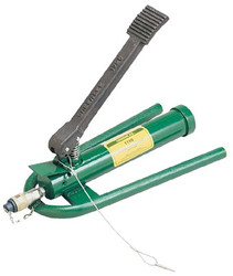 332-1725 | Greenlee Hydraulic Hand & Foot Pumps
