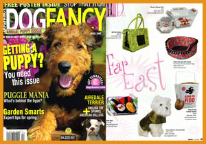 Sushi Pups in Dog Fancy Magazine
