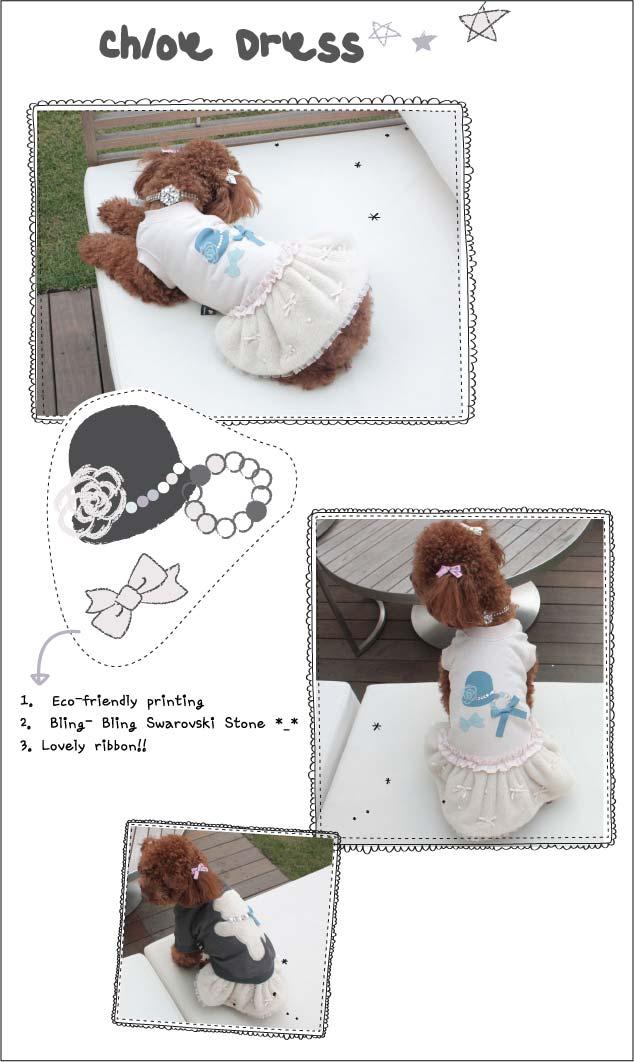Louisdog Chloe Dog Dress
