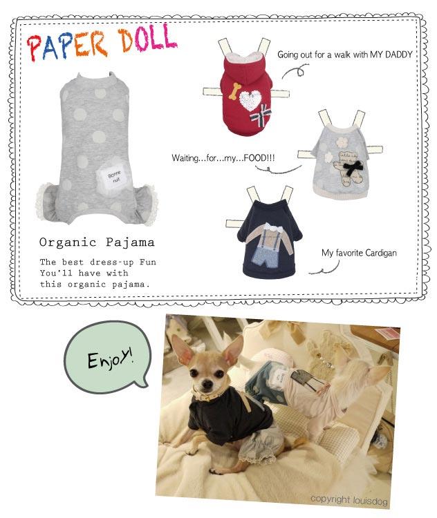 Louisdog Organic Pajamas
