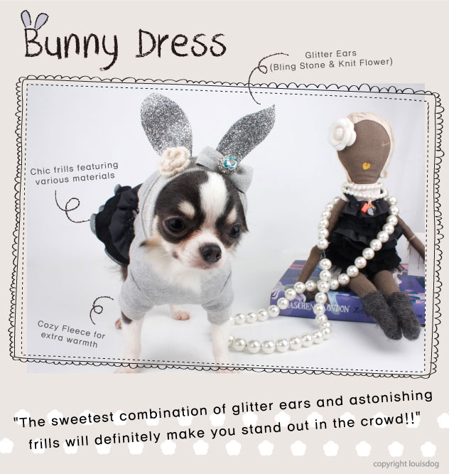 Louisdog Bunny Dress