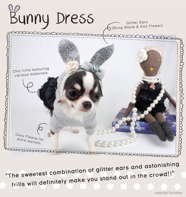 Louisdog Bunny Dress
