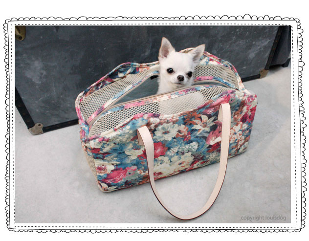 Louisdog Rose Bag