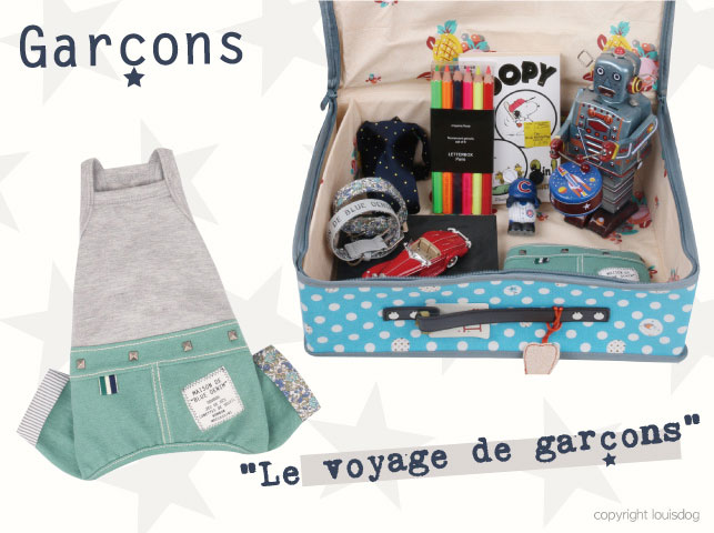 Louisdog Merci Denim Bag