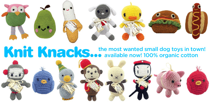 Pet Flys Knit Knacks