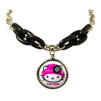 Hello Kitty Lucite & Chain Necklace
