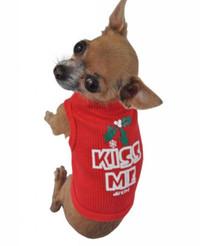 Kiss Me Dog Tank Tee Bandana Sweatshirt Matching Human Tank
