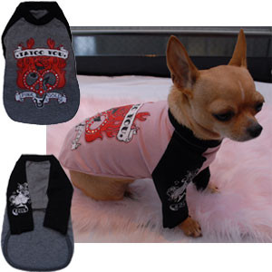 Tattoo You Dog Tee by Paris Erotica