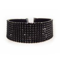 Swarovski Crystal Dog Collar Necklaces (9 Rows)
