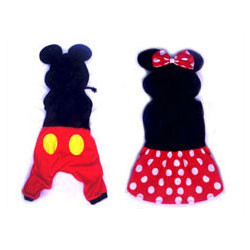 Mickey and Minnie Dog Costumes