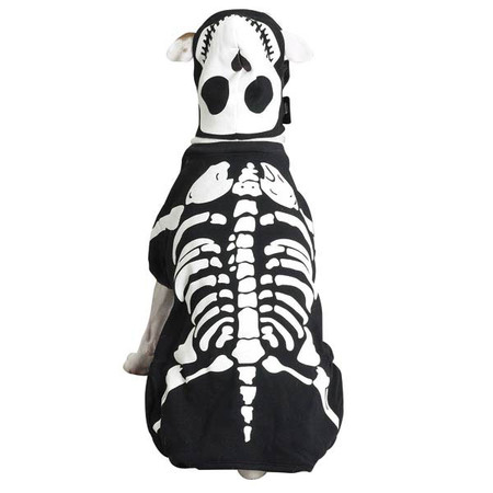 Glow Bones Skeleton Dog Costume