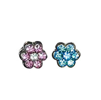 Rhinestone Flower Sliders