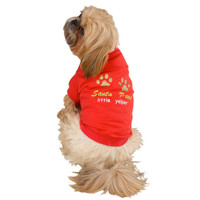 Christmas Holiday Hound Dog Tees