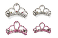 Crystal Princess Tiara Barrette