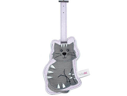 Tabby Cat Luggage Tag